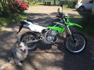 2015 Kawasaki KLX250 dirt bike Morisset Lake Macquarie Area Preview