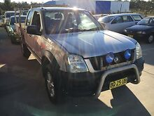2003 Holden Rodeo LX 4x4 dual cab tray back Ute Cardiff Lake Macquarie Area Preview