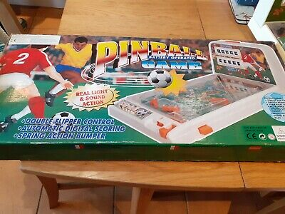 vintage  battery operated pinball game