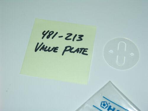 Hakko 700 / 700C / 706 / 707 / 483 Solder / Desoldering Valve Plate 481-213