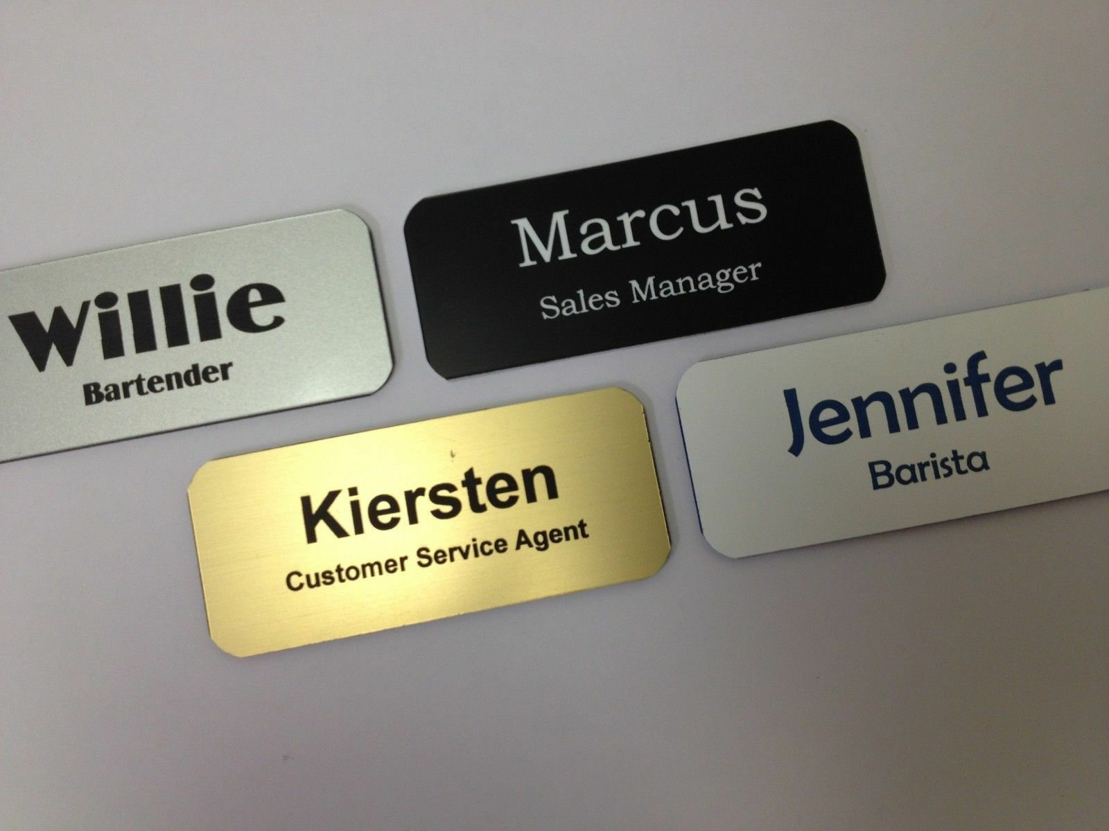 Name Badge: How To Make Magnetic Name Tags