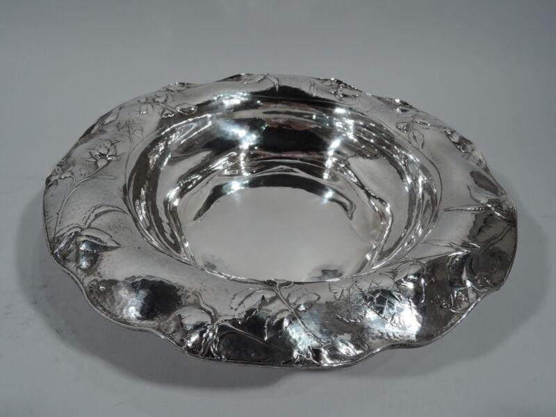 Gorham Bowl - EFX - Antique Centerpiece - American Martele 9584 Silver   1914
