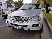 Urgent sale!! Mercedes Ml280 CDI 4x4 silver immaculate condition Auburn Auburn Area Preview