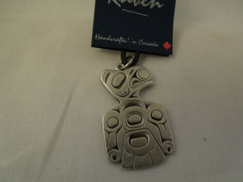 Pewter Raven Steals The Sun Necklace