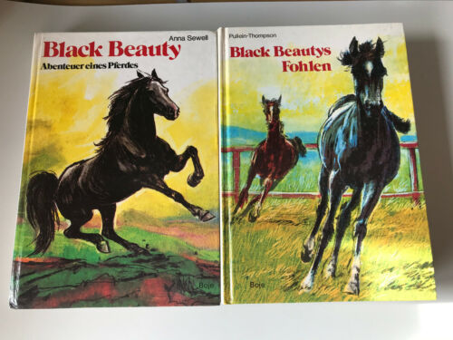 2 Bücher Black Beautys Fohlen - Christine Pullein-Thompson / Anna Sewell 1975