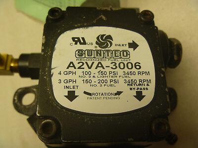Suntec Oil Burner Pump A2va-3006 Beckett Clean Cut With 115 Volt Ac Coil Nos