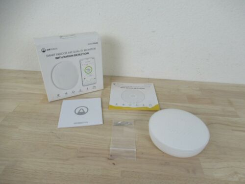 AirThings Wave Plus Smart Indoor Air Quality Monitor Radon Detection With Box