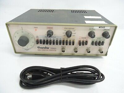 Thandar Tg501 Max. Frequency 5 Mhz Pulse Generator Yes Max. Level 20vpp