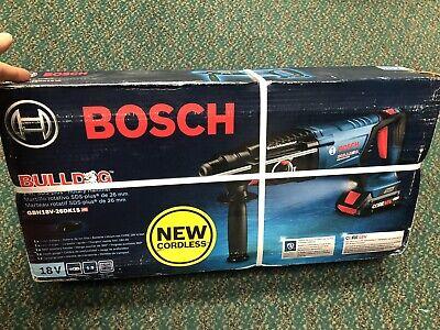 Bosch Gbh18v-26dk15 18v Ec Bl Sds-plus Bulldog Rotary Hammer Kit New Free Ship