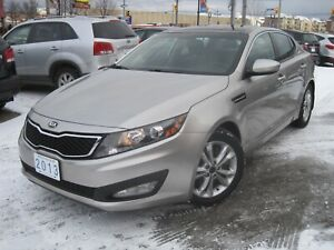 2013 KIA OPTIMA EX TURBO | Leather • 2 Pan.Roofs • Heated Seats