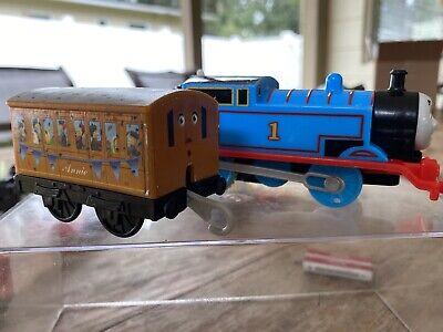 Thomas The Tank Engine Trackmaster Thomas + Annie Mattel - tested working