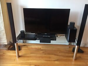 "42"" Plasma Tv, Surround System, Tv stand/coffee table"