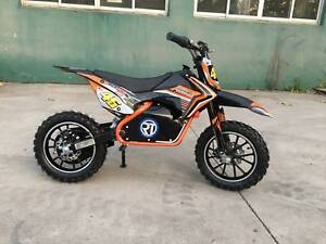 Electric Dirt Bike 25 km 36V 500 Watt  Motor with Speed control
