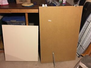 Expedit/Kallax Ikea Desk   White
