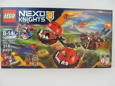 Lego Nexo Knights 70314 Beast Master's Chaos Chariot New Sealed Box