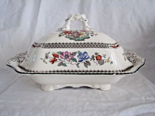Spode CHINESE ROSE VEGETABLE Tureen w/ lid