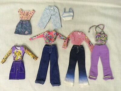 Barbie Clothes and Accessories Lot Mattel Early 2000s Ken Outfit
