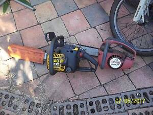 2 petrol chainsaws Quakers Hill Blacktown Area Preview