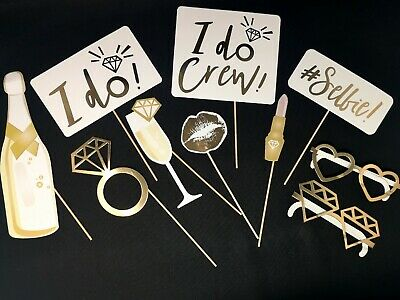 Photo Booth Props for Bachelorette Party | New Wedding Photo Booth Props
