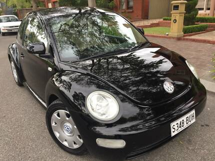 VW BEETLE AUTOMATIC TRANSMISSION BLACK DUCO LEATHER TRIM College Park Norwood Area Preview