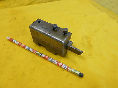 Screw Machine Or Turret Lathe Tool Holder Post Hss Bit Brown Sharpe Usa 20