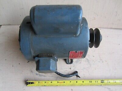 Ge General Electric Motor 34 Hp 1 Ph 58 Shaft 1425 Rpm 110220 Volts