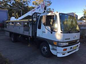 Hino ranger FD GMJ travel tower Buttaba Lake Macquarie Area Preview