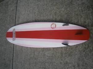 6'10 mini mal surfboard