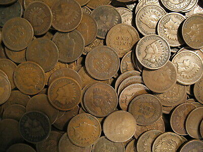 Best  @ LARGE COLLECTION OF INDIAN HEAD CENT PENNY COINS 1858-1909 @ OLD ESTATE SALE @
