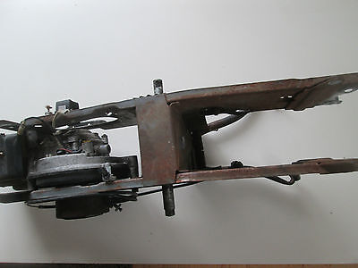 ECO 053  Mofa Motor  Rahmen  Hauptständer