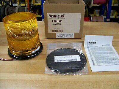 Whelen L10 Series L10hap Amber Permanate Mount Led Beacon