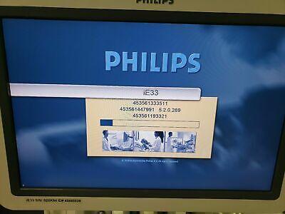 Philips Ie33 Cardiac Ultrasound Machine Excellent Condition 4 Probes