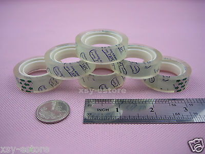 36 Rolls Stationery Adhesive Tape Transparent Sticky Tape 12mm X 15yard1 Core