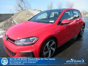 2018 Volkswagen GTI GTI Manual - Leather, Navigation, Sunroof, A