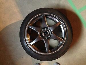 17x7 +45 wheels and tires