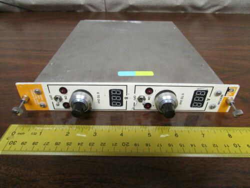 Bertan 362 Dual High Voltage Power Supply DPM Readouts NIM BIN Plugin SN5151