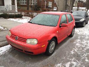 Volkswagen Golf low mileage