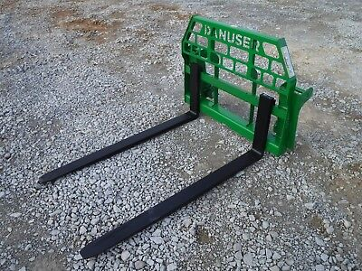 John Deere Tractor Attachment - 60 Pallet Forks 600 700 Series - Ship 199