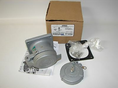 New Appleton Adr3022 Pin And Sleeve Receptacle 30 Amp 600 Volt Ac 2-pole