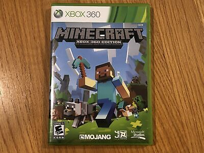 Microsoft Minecraft Xbox 360 Edition Game - Used, Excellent, w/ Case