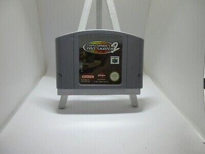 N64 Tony Hawk's Pro Skater 2 PAL cart tested (NA8)