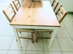 Dining Table with 4 chairs IKEA | Dining Tables | Gumtree ...