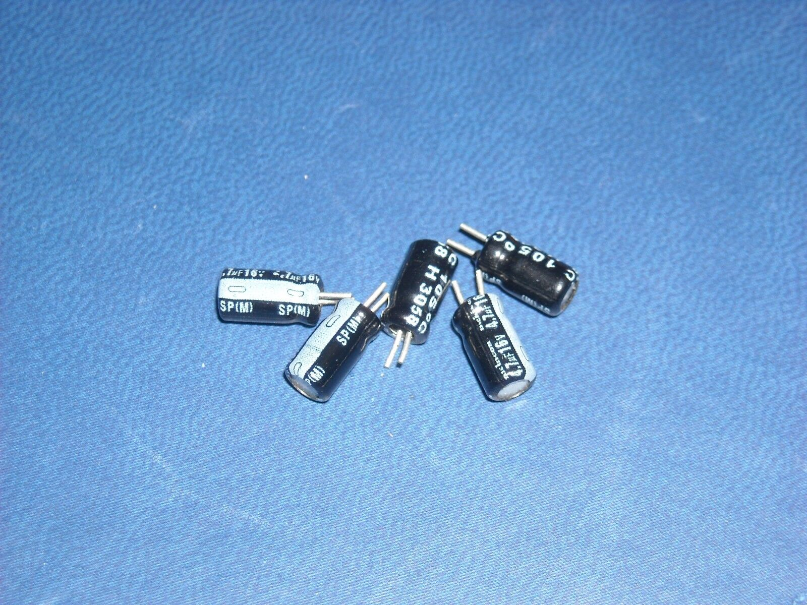 4 x Nichicon NU 25V 47UF Aluminum solid Ultra Low ESR High reliability Capacitor