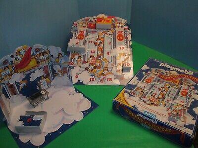 Playmobil Advent Calendar 3978 Christmas Bakery COMPLETE Santa Mrs stove sink