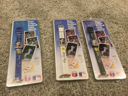 Lot Of 3 Roger Clemens Boston Red Sox 1989 Topps Watch Black