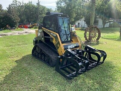 Asv Rt60 Skid Steer Loader Cab Ac