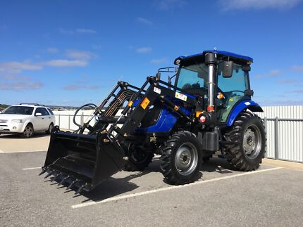 2018 TRIDENT 80HP Tractor with 4in1 Bucket & 6 FT Slasher Lonsdale Morphett Vale Area Preview