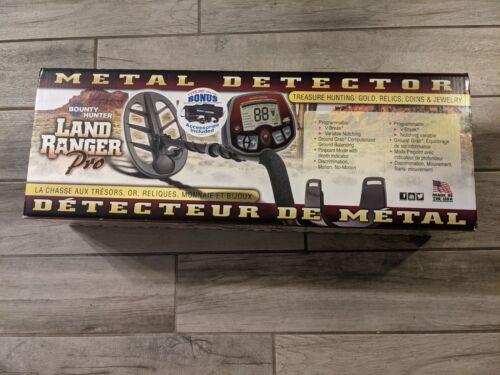 "Bounty Hunter Land Ranger Pro Metal Detector,11"" Ellipical Biaxial Coil,7.69 KHz"