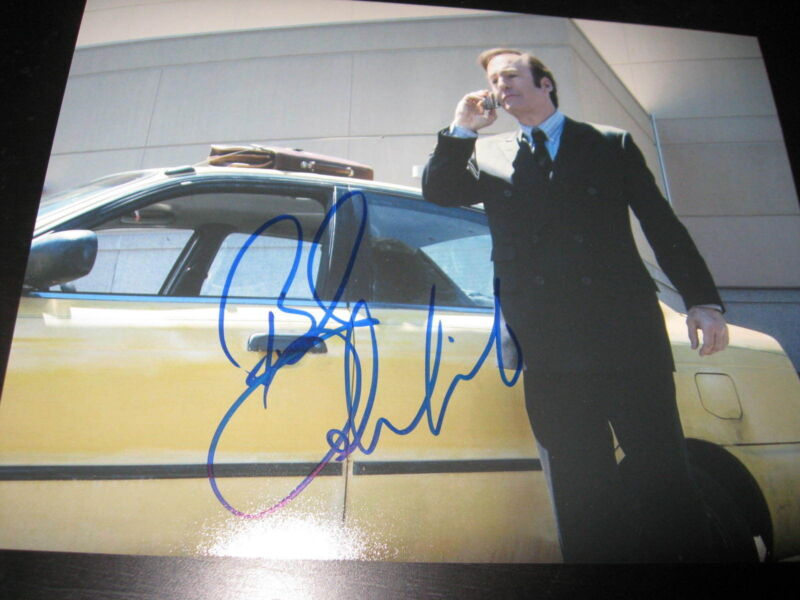 BOB ODENKIRK SIGNED AUTOGRAPH 8x10 PHOTO BETTER CALL SAUL BREAKING BAD COA X14