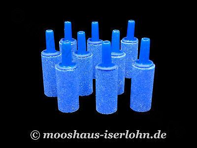 3 x Ausströmerstein Länge 2,5cm Ø 12,5mm Luftausströmer Sauerstoff Sprudelstein